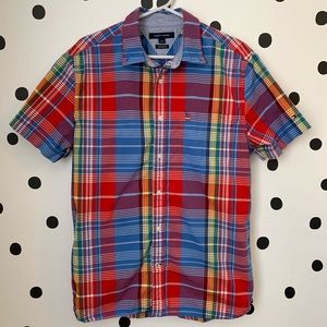 🔥30%OFF🔥EUC TOMMY HILFIGER COLORFUL BUTTON DOWN